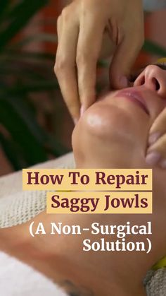 To Reduce Saggy Jowls Here's a Great Solution Recommend by Beauty Experts for Firmer, Younger Looking Skin.Here's a Great Solution Recommend by Beauty Experts for Firmer, Younger Looking Skin. Beauty Care, Beauty Skin, Beauty Secrets, Beauty Hacks, Baking Soda Shampoo, Facial Exercises, Facial Massage, Sagging Skin, Younger Looking Skin