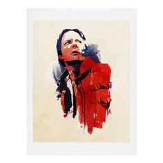 Robert Farkas Marty McFly Framed Wall Art | DENY Designs Home Accessories