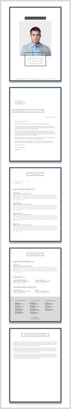 13 besten CV Bilder auf Pinterest | Anschreiben, Lebenslauf design ...