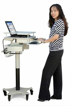 1000 Images About Laptop Cart On Wheels On Pinterest