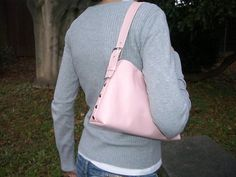 Růžová kabelka Sling Backpack, Drawstring Backpack, Backpacks, Bags, Fashion, Handbags, Moda, Fashion Styles, Backpack
