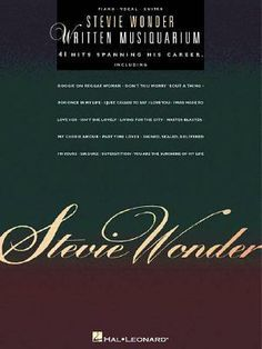Stevie Wonder, Written Musiquarium - 41 Hits Spanning His Career By Stevie Wonder, 9780634004971. , Biografie DG-SHOP