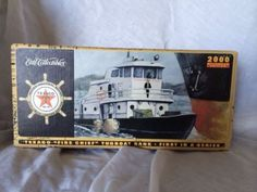 Ertl Texaco Fire Chief Tugboat First in the Series, 2000 Millennium Edition