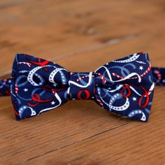 Toddler Bow Ties, Kids Bow Ties, Custom Bow Ties, Blue Bow Tie, Come Undone, Red White Blue, Navy Blue, Gifts For Father, Independence Day