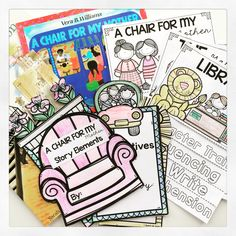 Literature flip books for the year! These flip books will serve as fun companions for 52 of your favorite story books!