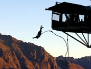 Bungee Jumping in Queenstown, NZ. Been waiting to do this for years!