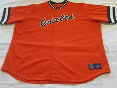 MLB Baltimore Orioles Cooperstown Collection Jersey by Majestic Men's 5X #Majestic #BaltimoreOrioles