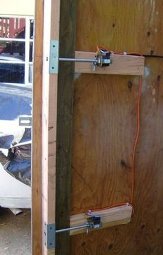 Build a Remote Control Deadbolt: 7 Steps (with Pictures) Hidden Gun Storage, Secret Storage, Secret Compartment Furniture, Hidden Door Bookcase, Hidden Rooms, Hidden House, Gun Rooms, Rustic Bathroom Designs, House Doors