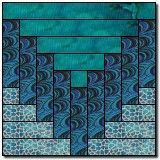A beautiful block and could make an astounding quilt!