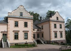 Alberga Manor (Espoo, Finland). Cities In Finland, Helsinki, Urban City, Country Estate, Old Buildings, Old Houses, Norway, Aurora, Chateaus