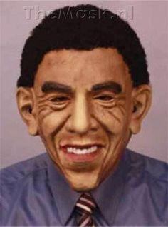 This is a Barack Obama mask.