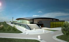 MULTIFUNCTIONAL SPORTS HALL SF. GHEORGHE on Behance