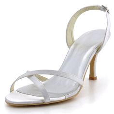 Touch Ups Women&39s Scarlet Dyeable Sandal. Formal and Bridal Shoes