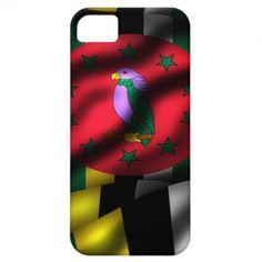 Dominica Flag Iphone 5 Case