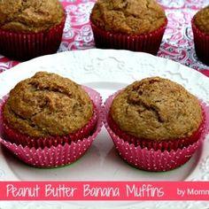 Healthy Peanut Butter Banana Muffins Recipe - ZipList