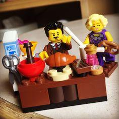 Lego minibuild, Mr Kowalski's Baking Academy!