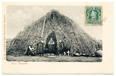 Traditional Mapuche home.