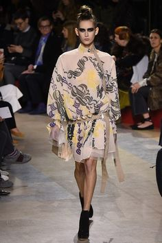 Catwalk photos and all the looks from Sacai Autumn/Winter 2016-17 Ready-To-Wear Paris Fashion Week