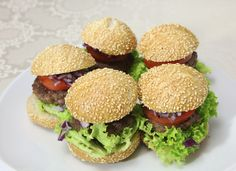 Wafu® Sliders - Irresistible Japanese-style sliders with the secret sauce. Barbecue Recipes, Grilling Recipes, Bbq Party, Salmon Burgers, Sliders, Great Recipes, Tasty, Entertaining, Dishes