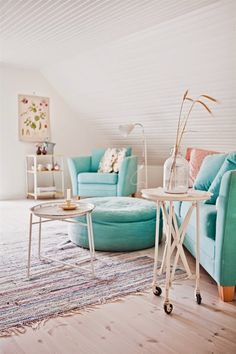 cute reading area or sitting room