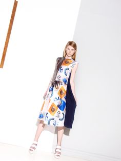 #print #dress #colors #girl Stylists, Textiles, Colors, Fabric, Prints, Dresses, Tejido, Vestidos, Tela
