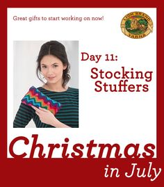 Christmas in July Day 11: 6 Stocking Stuffers You Can Finish Before Fall!