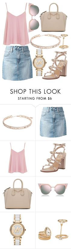 """""""301."""" by plaraa on Polyvore featuring Anne Klein, AG Adriano Goldschmied, Topshop, Valentino, Givenchy, Fendi, MICHAEL Michael Kors and Forever 21"""