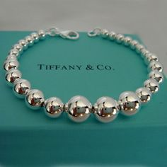 Tiffany silver bracelet from my son