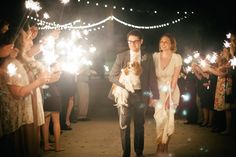 50 of the most magical sparkler wedding exits: http://www.stylemepretty.com/collection/3381/