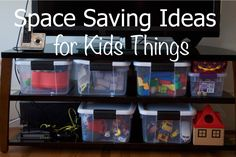 Space Saving Ideas for Kids Things