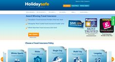 Holidaysafe featuring their #CMFAwards winning logo on their home page: http://www.holidaysafe.co.uk/