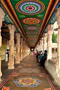 Ceiling Inspiration: Meenakshi #Temple, Madurai, India