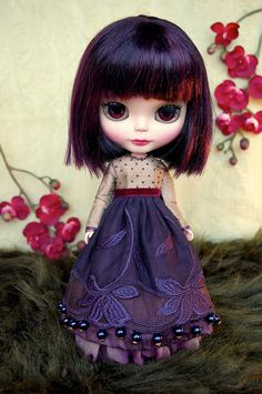 Cassis   Blythe clothes for dolls : tutorial : Kikihalb ♧ Forest~Tales ♧