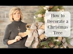 How to Decorate a Christmas Tree With Ribbon | Hometalk