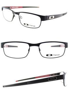 4a22afca3cc Fashion Eyewear Clear Glasses 179244  Authentic Oakley Carbon Plate Ox5079-0153  Matte Black Rectangle