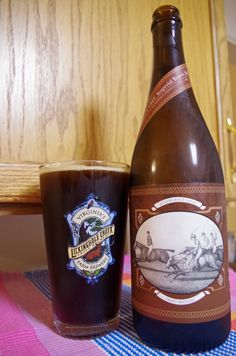 FEARNOUGHT - Bourbon Barrel Imperial Brown Ale by Lickinghole Creek Craft Brewery in Goochland, VA