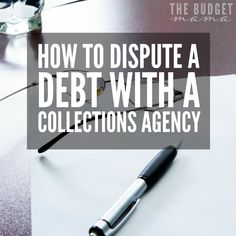 Dispute Credit Report, Money Saving Tips, Money Tips, Money Hacks, Saving Ideas, Improve Credit Score, Collection Agency, Budgeting Finances, Budgeting Tips