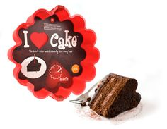 I Heart Cake - designed by gift company Mustard, 1cake divides into 6 heart shaped slices