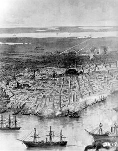 New Orleans in the American Civil War - Wikipedia, the free encyclopedia Battle Of Shiloh, Battle Of New Orleans, Louisiana Purchase, Confederate States Of America, United States Navy, Down South, American Civil War, American History, Civilization
