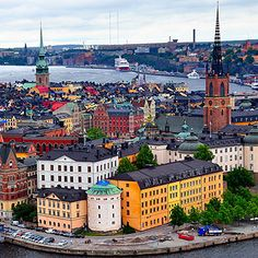 Stockholm piles on the style with aplomb! If you're a fan of aesthetics, take a trip to Sweden's capital, Stockholm, says The Daily Mail's Mark Palmer. There, you'll find plenty of good style. Places To Travel, Places To Visit, Scandinavian Countries, Stockholm Sweden, Stockholm Travel, Stockholm City, Destin Beach, Cool Countries, Destinations