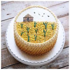 The thankful receiver bears a plentiful harvest. Pretty Cakes, Cute Cakes, Beautiful Cakes, Amazing Cakes, Flamingo Party, Afternoon Tea, Cake Preparation, Fondant, Buttercream Flower Cake