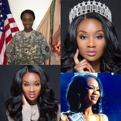 """U.S Military commander Deshauna Barber has won the 65th annual Miss USA Pageant 2016.  Barber, who represents District of Columbia; joined the army when she was 17 years old and began competing in pageants at age 19.  She is the seventh African American woman to obtain the crown of Miss USA. According to the Miss Universe website, Barber is """"currently a Logistics Commander for the 988th Quartermaster Detachment Unit at Fort Meade, Maryland."""""""