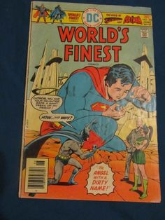 WORLDS FINEST COMICS featuring the Sons of Superman and Batman  #238 FN+