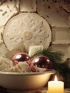 Vintage Rose Brocante Winter Wonderland...