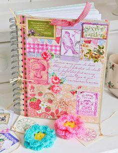Pretty garden journal by Helen Philipps