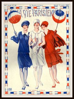 """Beautiful art print Vintage French Magazine Paris Image """"La Vie Parisienne"""" Wall Decor Unframed Print is Unframed 8.5 x 11"""" Ready for framing . Professionally printed on medium weight cardstock"""