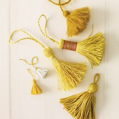 Tie a Tassel | Step-by-Step | DIY Craft How To's and Instructions| Martha Stewart