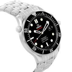 17709 Omega Seamaster James Bond Steel Mens Watch 212.30.41.20.01.002 SwissWatchExpo