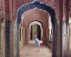 couloir / olokosmon / arche / motif / décoration