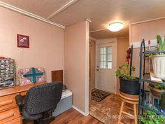 Property 2240 Fearon Road Unit Campbell River, has 2 bedrooms, 1 bathrooms with 1196 square feet. Mobile Offers, Office Names, Remodeling Mobile Homes, Open Plan, The Unit, River, Bedroom, Interior, Furniture
